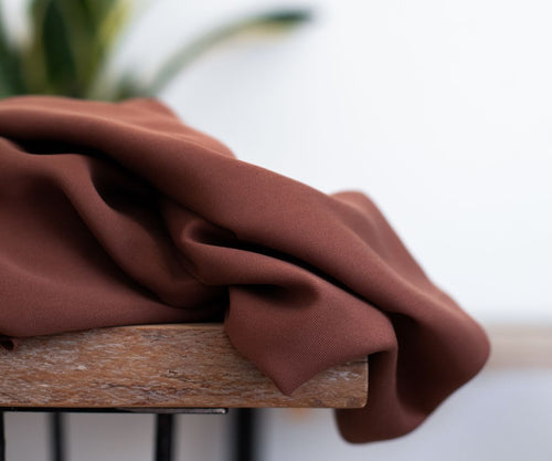 Pecan - Smooth Drape Twill with TENCEL™ fibres - meetMILK