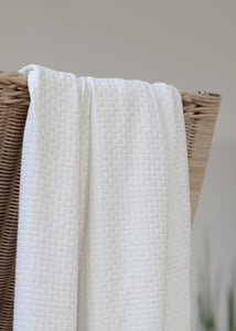 White Sand - Organic Cotton Wicker Knit - mind the MAKER
