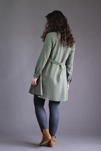 Passiflore Coat Dress - Deer and Doe