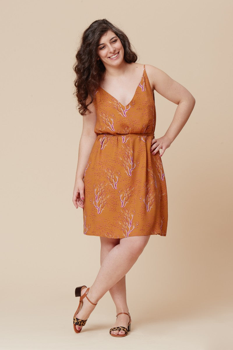 Pensee Dress and Top - Deer and Doe - Patterns - Deer and Doe - Sew Me Sunshine