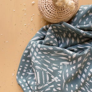 Shade Cactus - Viscose with Lenzing™️ EcoVero™️ viscose fibres - Atelier Brunette - PREORDER - Fabric - Atelier Brunette - Sew Me Sunshine