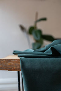 Deep Green - Soft Stretch Twill with TENCEL™ fibres - meetMILK