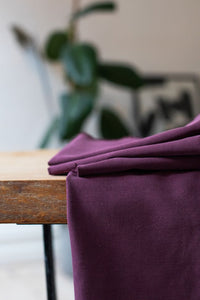 Maroon - Soft Stretch Twill with TENCEL™ fibres - meetMILK