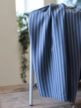 Dusty Blue - Two Tone Stripe Twill with TENCEL™ fibres - meetMILK - Fabric - meetMILK - Sew Me Sunshine