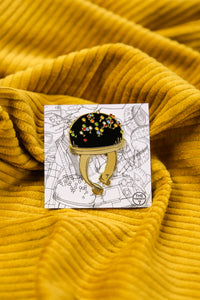 The Pin Cushion - Enamel Pin - The Trendy 7