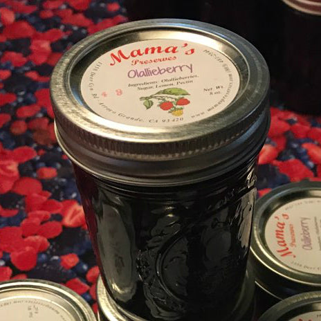 Olallieberry Preserves (8 oz)