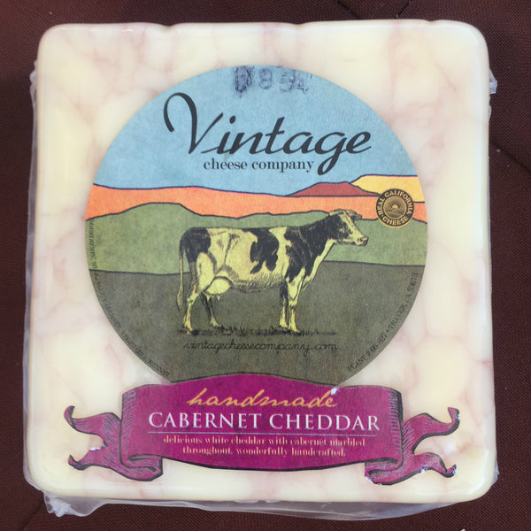 Cabernet Cheddar Cow Cheese