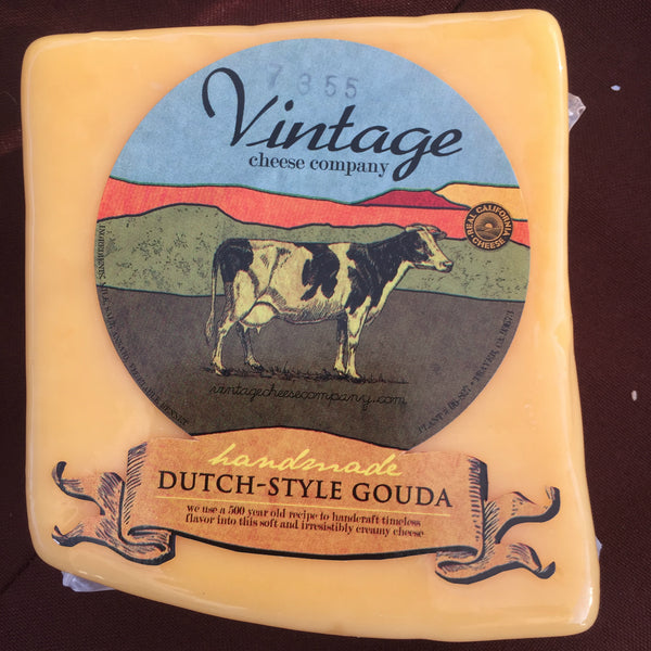 Dutch-Style Gouda Cow Cheese