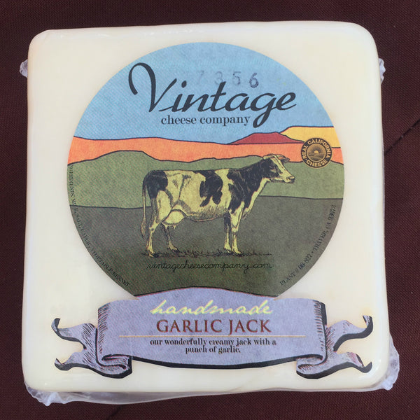 Garlic Jack Cow Cheese