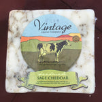Sage Cheddar Cow Cheese