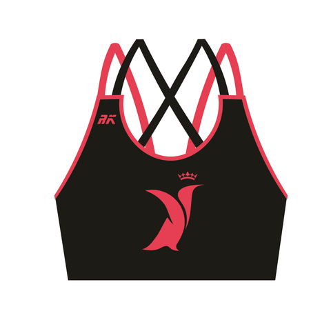 Dundee University Women's FC Strappy Sports Bra