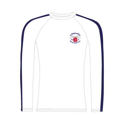Hereford Rowing Club White Long Sleeve Baselayer