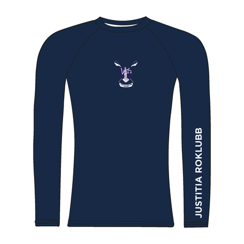 Justitia Roklubb Navy Long Sleeve Baselayer