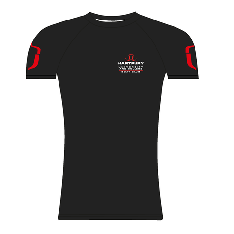 Hartpury University & College Black Short Sleeve Base-Layer
