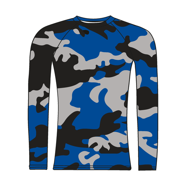 Imperial College Boat Club Long Sleeve Camo Baselayer