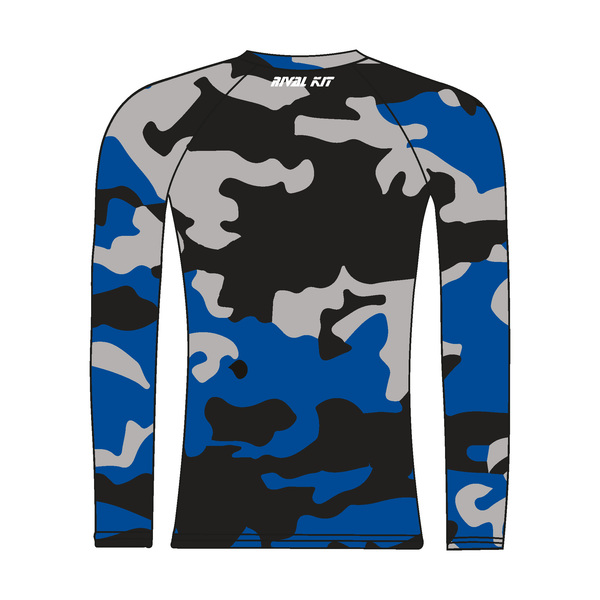 Imperial College Boat Club Alumni Long Sleeve Camo Baselayer