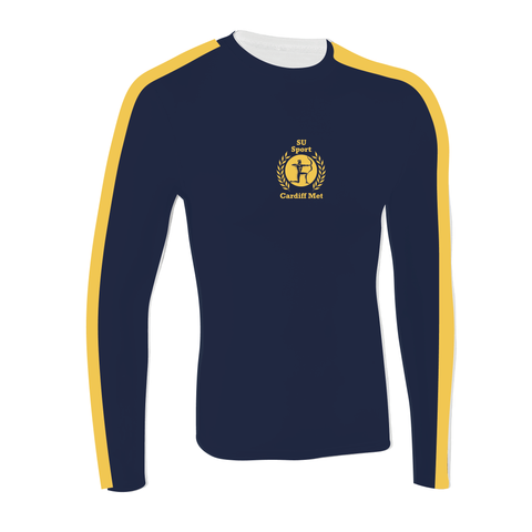 Cardiff Met Rowing Club Long Sleeve Baselayer
