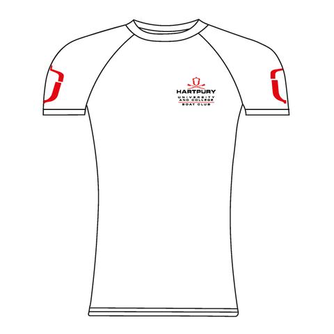 Hartpury University & College White Short Sleeve Base-Layer