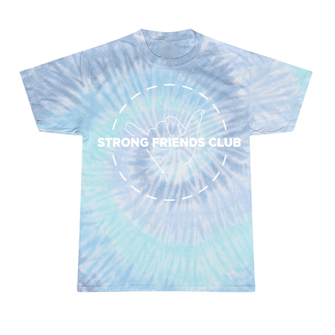 Strong Friends Club Tie-Dye T-shirt