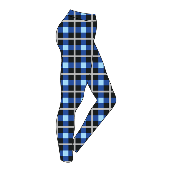 Imperial College Boat Club Alumni Tartan Leggings