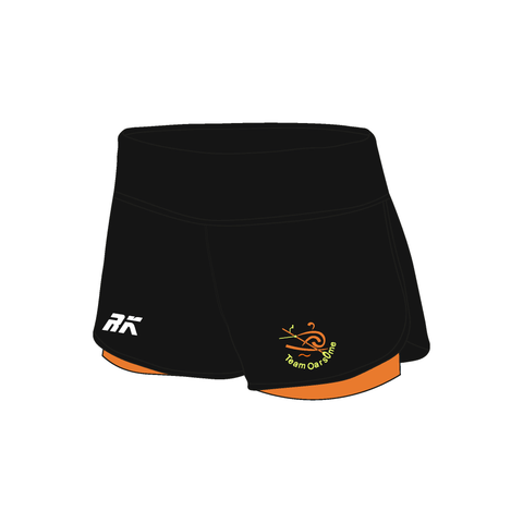 Team Oarsome Indoor Rowing Club Female Gym Shorts