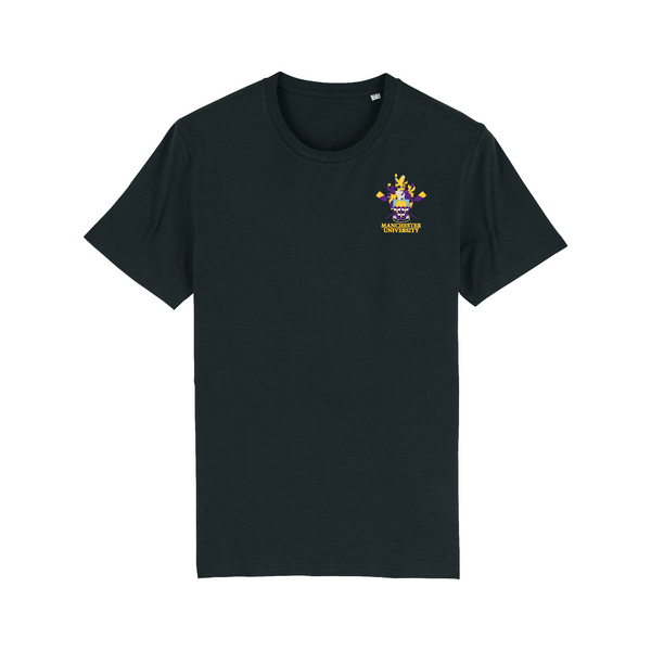 Manchester University Boat Club Black T-Shirt
