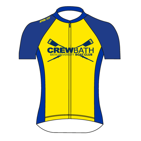 (Same Day Dispatch) Crew Bath Short Sleeve Cycling Training jersey