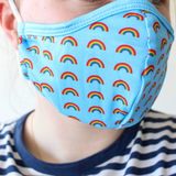 Two Pack of Rainbow Masks