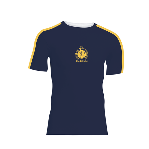 Cardiff Met Rowing Club Short Sleeve Base-Layer