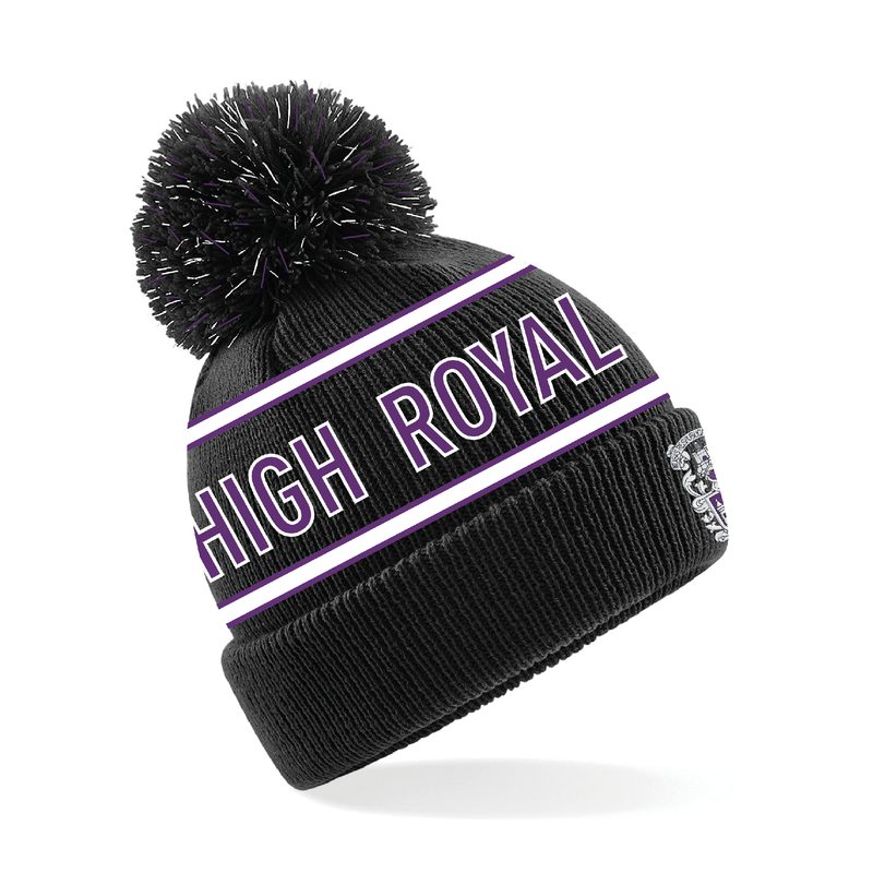 Royal High Rugby Club Bobble Hat