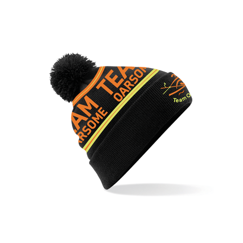 Team Oarsome Indoor Rowing Club Bobble Hat