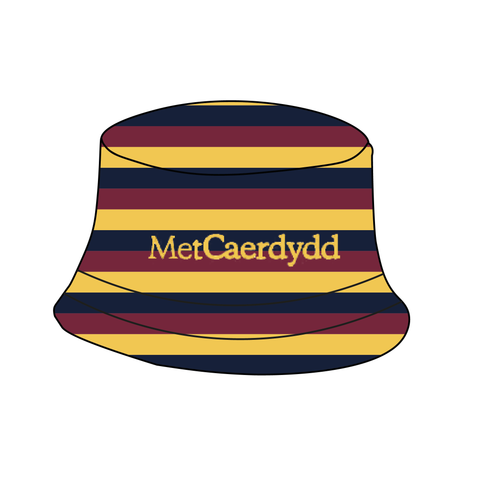 Cardiff Met Boat Club Reversible Bucket Hat