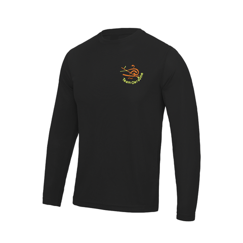 Team Oarsome Indoor Rowing Club Long Sleeve Gym T-shirt