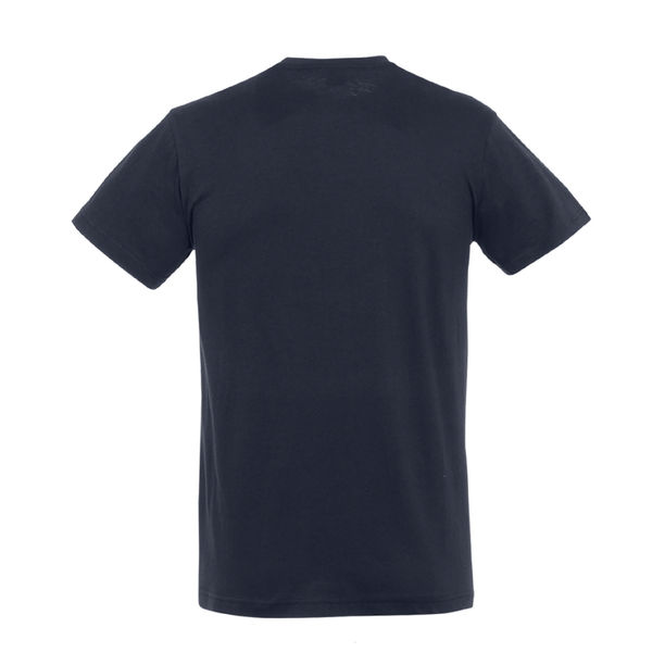 Monster the Loch Cotton T-Shirt Navy