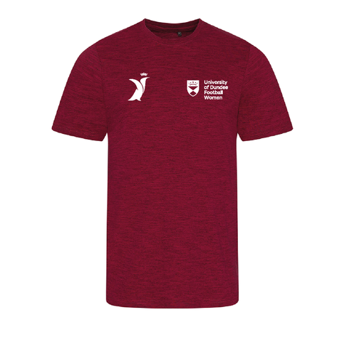Dundee University Women's FC Soft Touch Gym T-Shirt