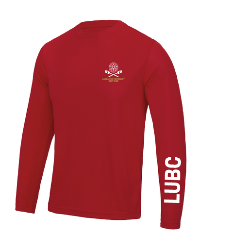 Lancaster University Boat Club Long Sleeve Gym T-shirt