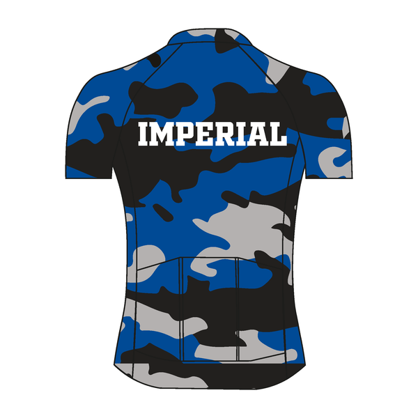Imperial College Boat Club ALUMNI Camo Short Sleeve Cycling Jersey