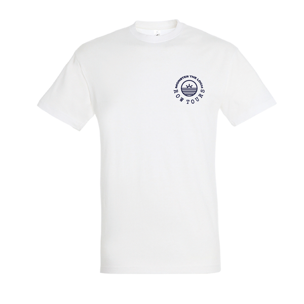 Monster the Loch Cotton T-Shirt White