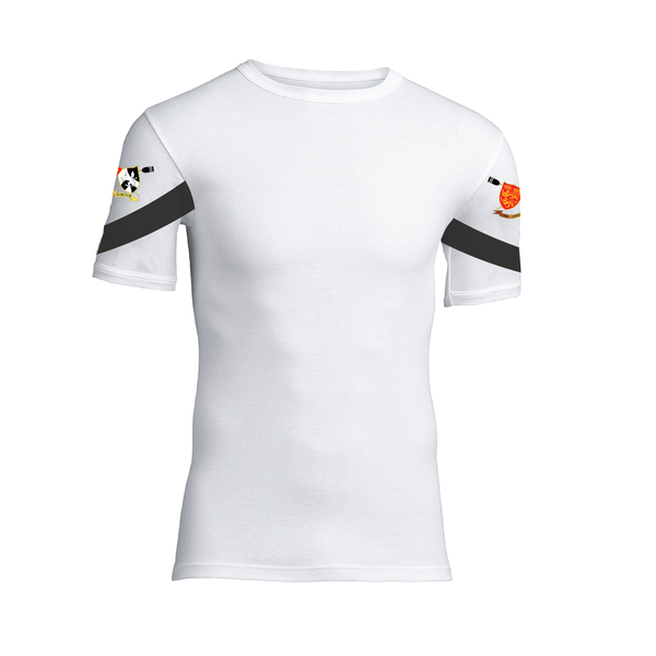 Barts and the London Boat Club short sleeved base-layer