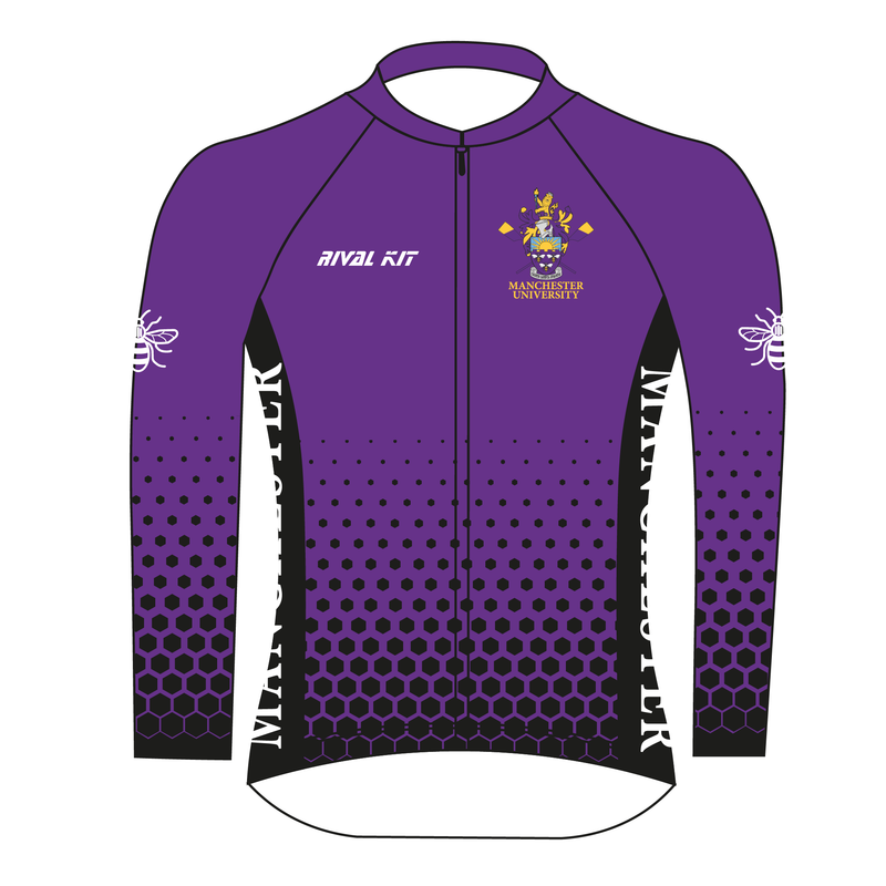 Manchester University Boat Club Long-sleeve Cycling jersey