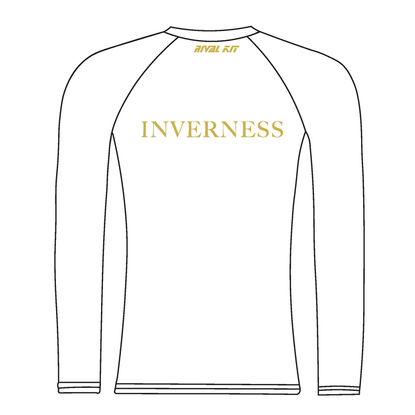 Inverness Rowing Club Long Sleeve Baselayer Design 2