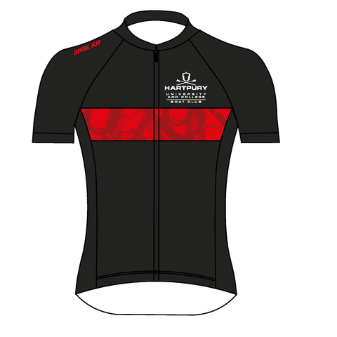 Hartpury University & College Black Cycling Jersey