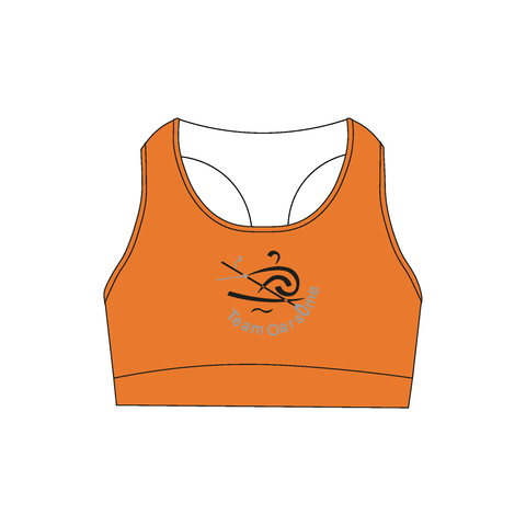 Team Oarsome Indoor Rowing Club Sports Bra