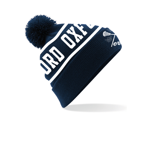 Oxford University Lacrosse Club Bobble Hat
