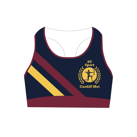 Cardiff Met Rowing Club Sports Bra