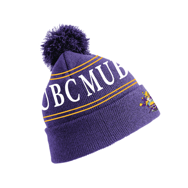 Manchester University BC Bobble Hat
