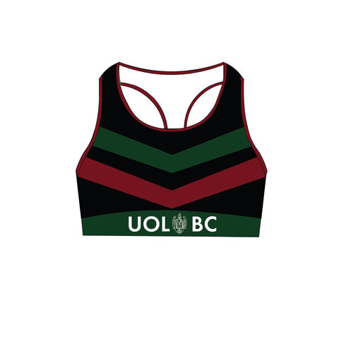 (Same Day/Free Dispatch) University of Leeds Training Sports Bra