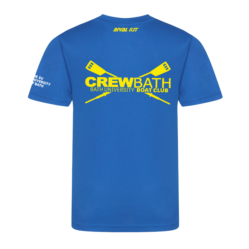 Bath Blue Gym T-shirt