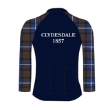 Clydesdale Long Sleeve Tartan Cycling jersey