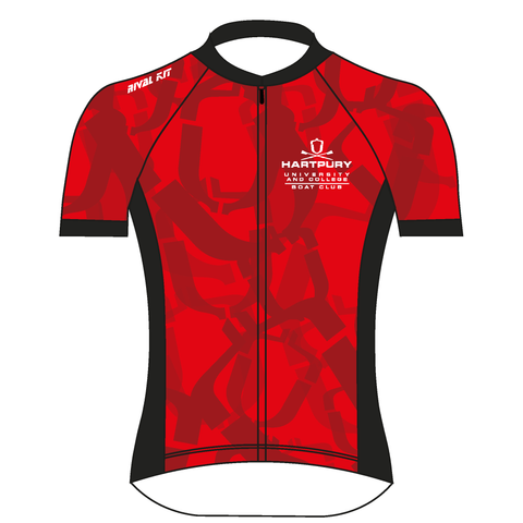 Hartpury University & College Red Cycling Jersey